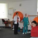 Bezoek aan fysiotherapie Betania