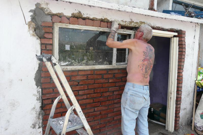 muur afwerken met fix en finish