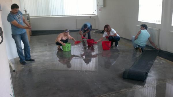 water in revalidatiecentrum 15 augustus