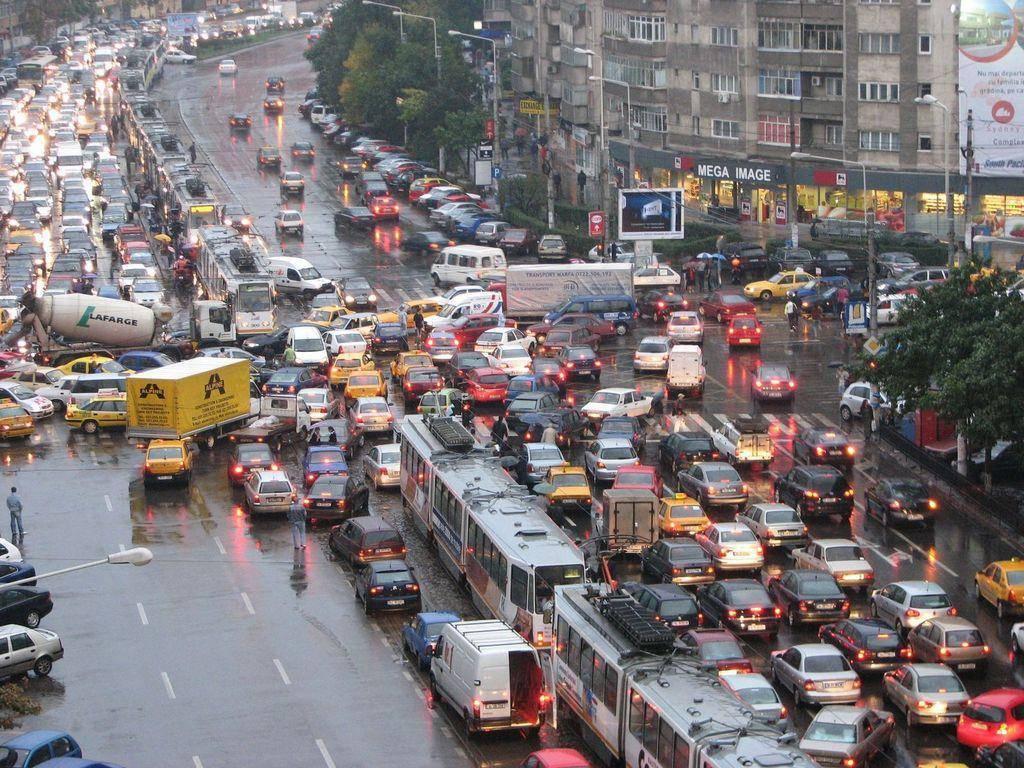 Situatie van het autopark in Roemenië