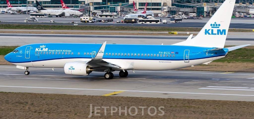 KLM PH-BCG 26.03.2019 KL1379